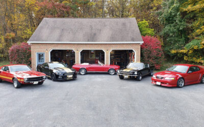 A Garage Filled With Awesome — Each Mustang A Keeper. Dave Shaffer Interview