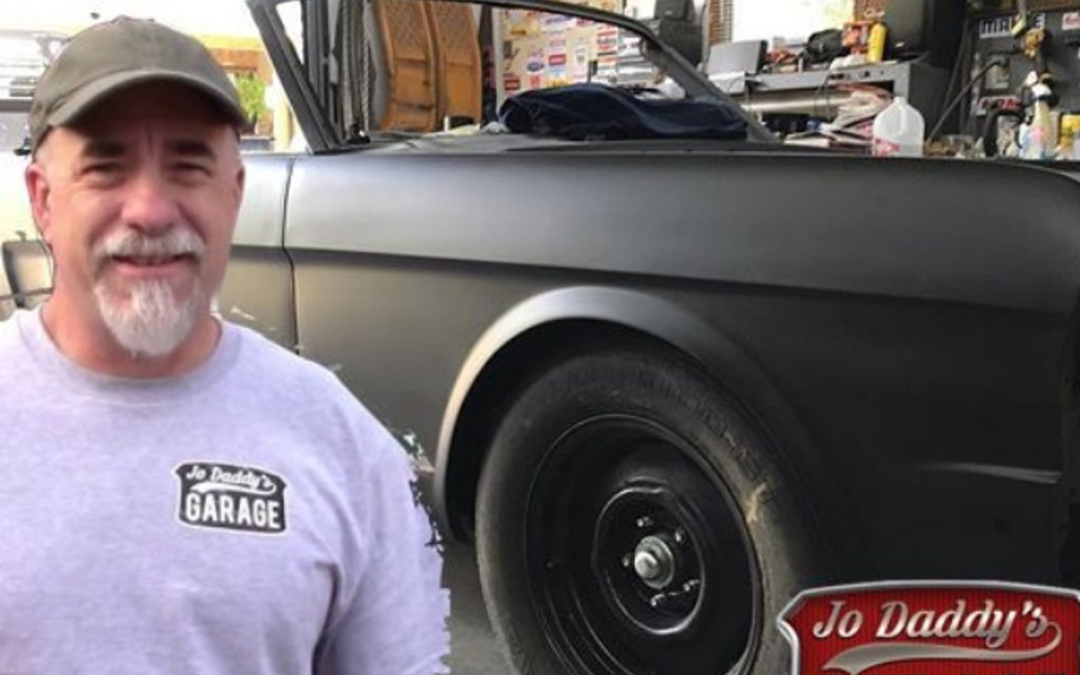 Barry from Jo Daddy's Garage, Interview